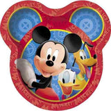 Mickey Mouse Clubhouse 9 Inch Plates [8 Per Package]