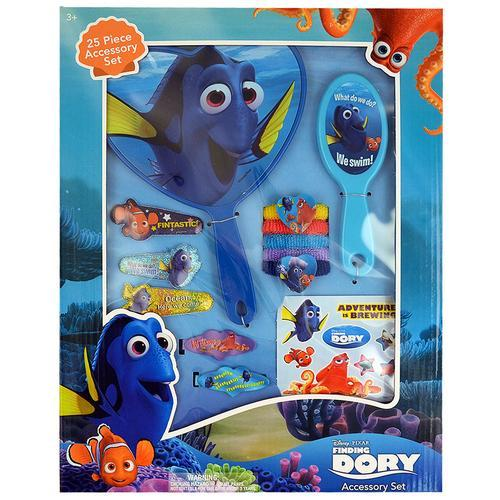 Disney Pixar Finding Dory 25-Piece Hair Accessory Set
