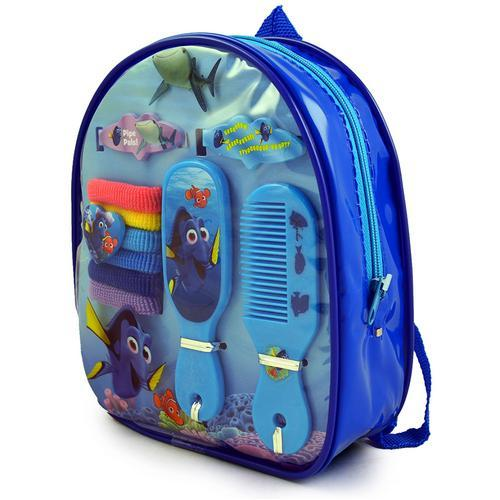 Disney Pixar Finding Dory Backpack 10-Piece Hair Accessory Set