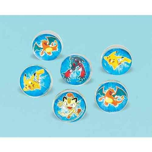 Pikachu & Friends Bounce Ball Favors [6 per pack]