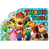 Super Mario Brothers Postcard Thank You Cards [8 in pack]