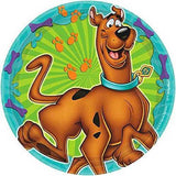 Scooby-Doo 7 Inch Round Plates [8 Per Pack]