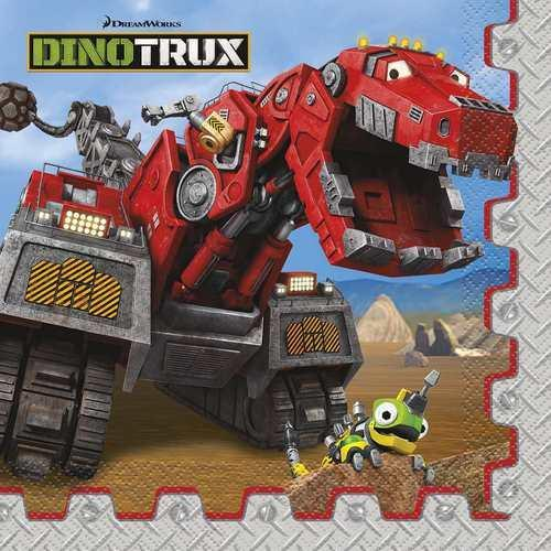 Dinotrux Luncheon Napkins [16 per Pack]