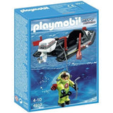 Playmobil Deep Sea Diver with Boat [4910]