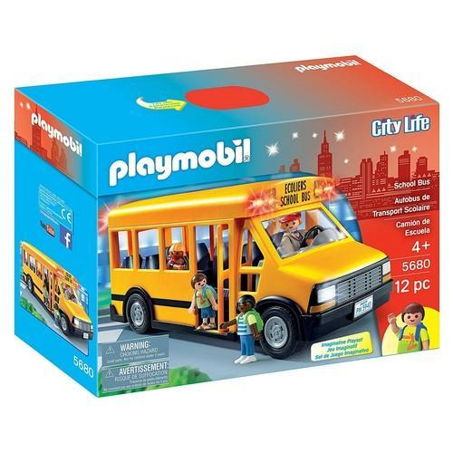 Playmobil City Life School Bus [5680]