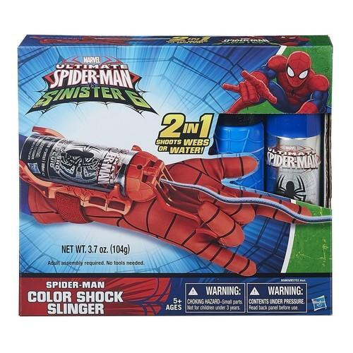 Ultimate Spider-Man Sinister 6 Spider-Man Color Shock Slinger