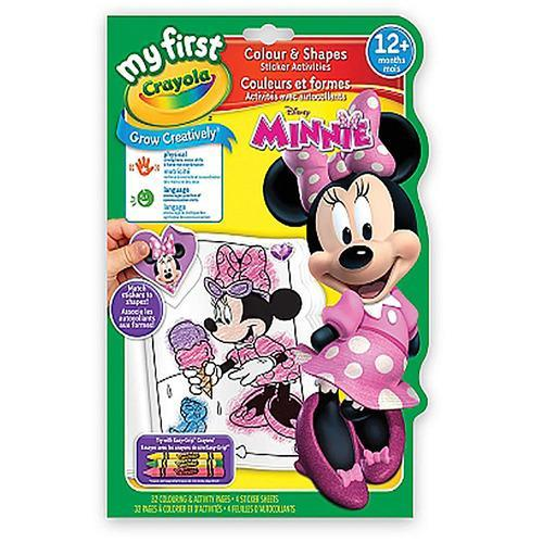 Crayola My First Colours and Shapes - Minnie Mouse