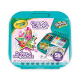 Crayola Shopkins Create and Carry Lapdesk and Carry Case