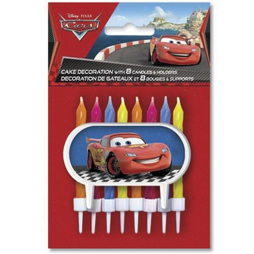 Disney Pixar Cars Cake Decoration and Candles