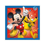 Mickey and the Roadster Racers Beverage Napkins [16 Per Pack]