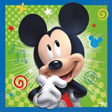 Mickey and the Roadster Racers Luncheon Napkins [16 Per Pack]