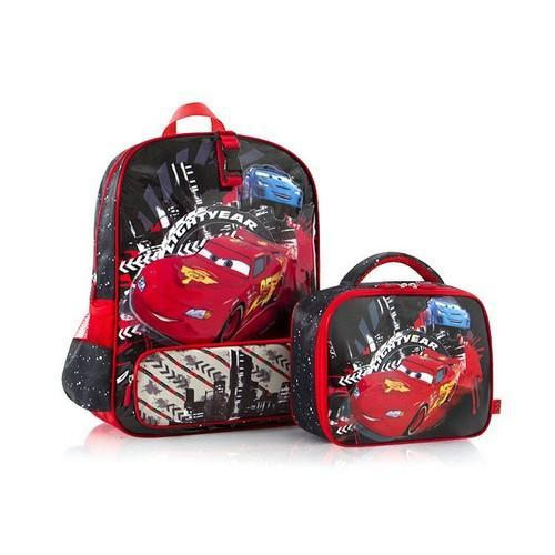 Disney Pixar Cars Deluxe Backpack and Lunch Bag Kit