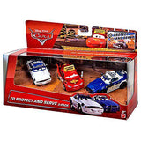 Disney Pixar Cars - To Protect and Serve 3-Pack - 1:55 Scale Die Cast Car