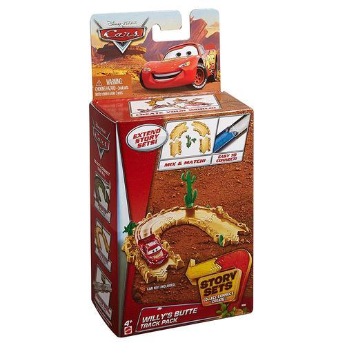 Disney Pixar Cars Story Sets Willy's Butte Track Pack