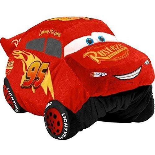Cars Pillow Pets - Lightning McQueen Stuffed Animal Plush Toy