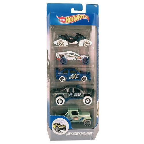 Hot Wheels HW Snow Stormers Die Cast Cars - 5 pack