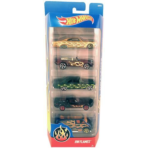 Hot Wheels HW Flames - 5 Pack