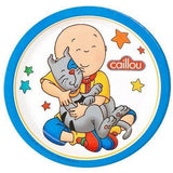 Caillou 7 inch Dessert Plates [8 per Pack]