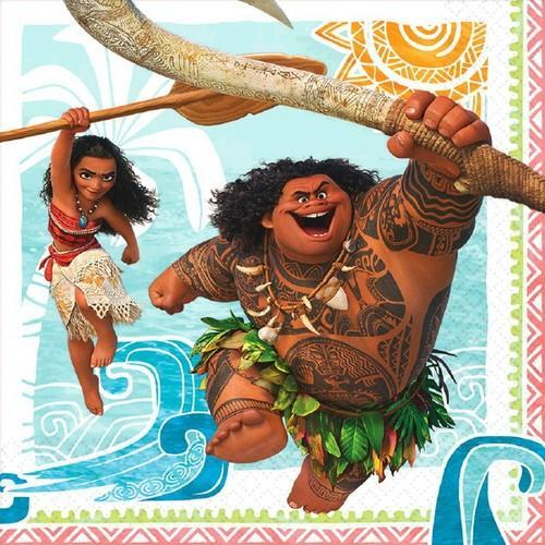 Moana Luncheon Napkins [16 per Pack]
