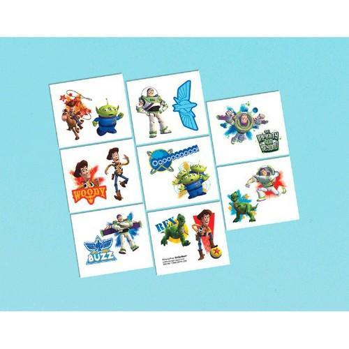 Toy Story Power Up Temporary Tattoo Sheets [4 per Pack]