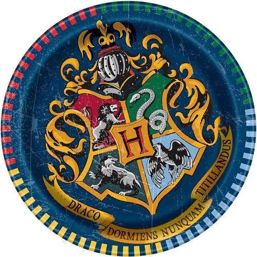 Harry Potter 7 Inch Plates [8 Pack]