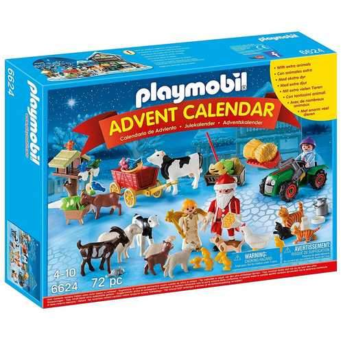 Playmobil Christmas on the Farm Advent Calendar [6624]