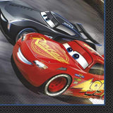 Disney Cars III Luncheon Napkins [16 Napkins]