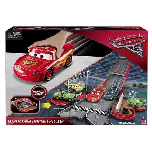 Cars 3 - Transforming Lightning McQueen Playset