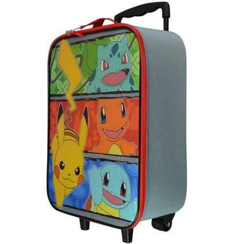 Pokemon Pikachu and Friends Softside Pilot Case