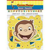 Curious George Party Banner