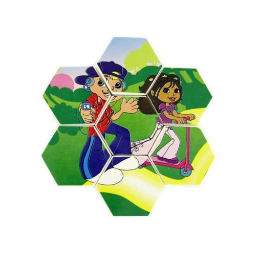 Two sided small Pop Kids puzzle ( Case of 72 )