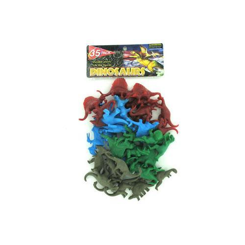 Play dinosaurs package of 35 ( Case of 96 )