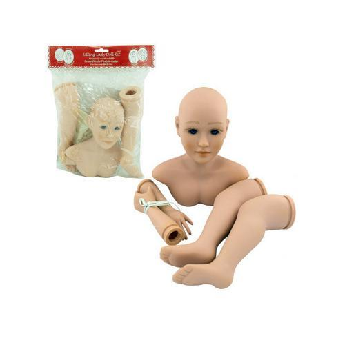 sitting lady doll kit ( Case of 12 )