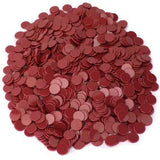 Solid Red Bingo Chips, 1000-pack