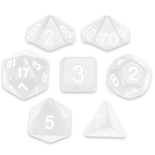 Set of 7 Polyhedral Dice, Astral Echoes