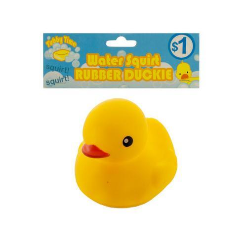 Water Squirt Rubber Duckie ( Case of 50 )