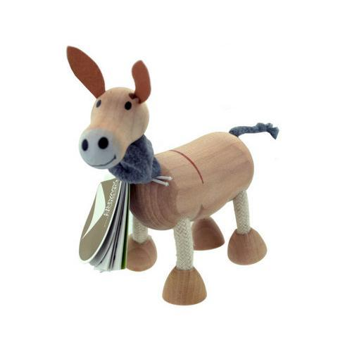 5pk wooden donkeys 14097 ( Case of 2 )