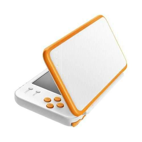 2ds Xl White And Orange