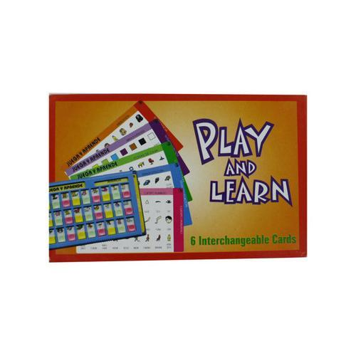Learn Spanish card game ( Case of 60 )