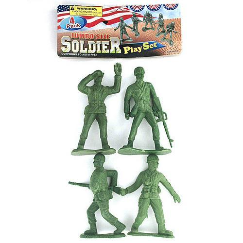 Jumbo size soldier pack ( Case of 72 )