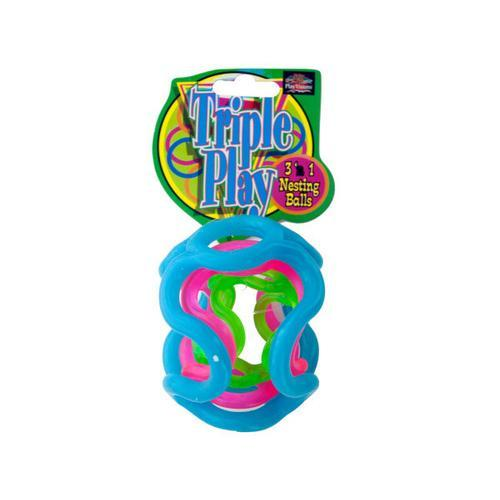Triple Play 3-in-1 Nesting Balls ( Case of 96 )
