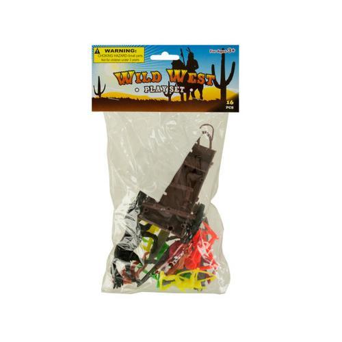 Wild West Play Set ( Case of 72 )