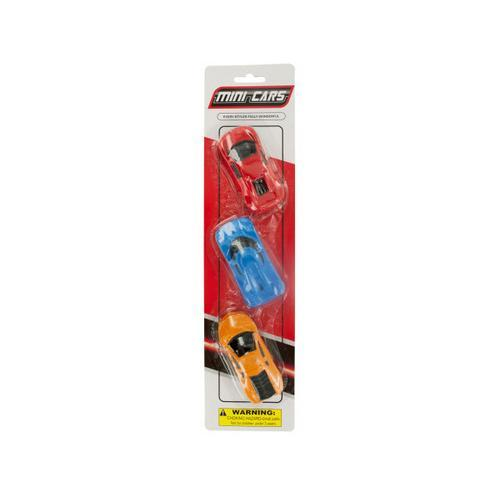 Mini Race Cars Set ( Case of 96 )