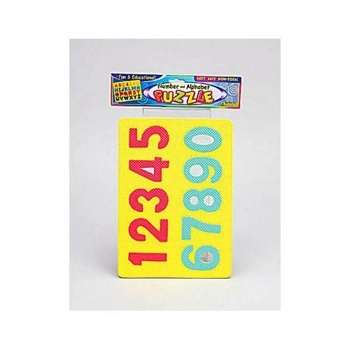 Alphabet & Number Foam Puzzle ( Case of 72 )