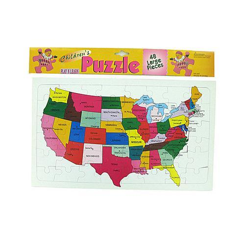 US puzzle for children ( Case of 24 )