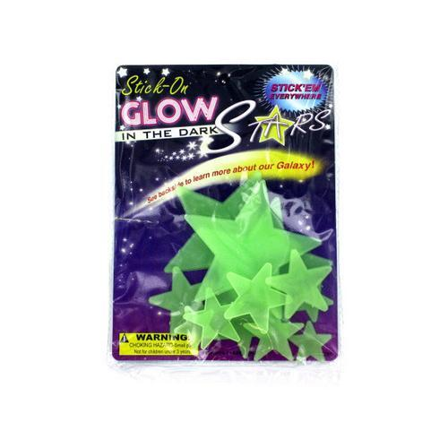 Stick-On Glow in the Dark Stars ( Case of 72 )