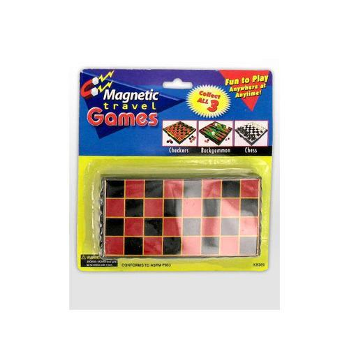 Magnetic travel games ( Case of 24 )