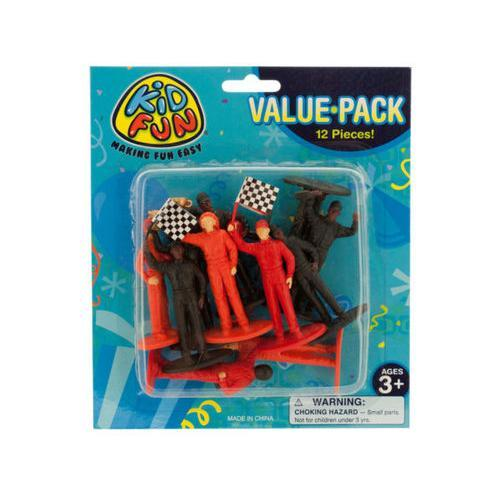 Race Car Driver Figures Set ( Case of 40 )