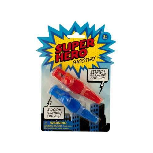 Super Hero Fling Shooters ( Case of 48 )