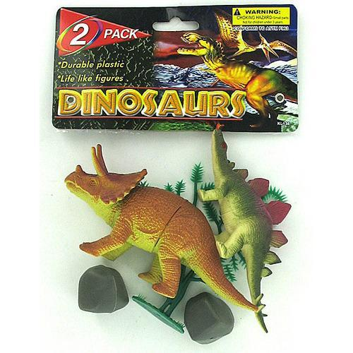 Plastic dinosaurs set ( Case of 72 )